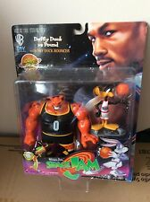 Rare Space Jam Warner Bros Daffy Duck Vs Pound Sealed Figure Looney Tunes