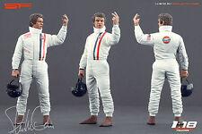 1/18 Steve McQueen Le Mans VERY RARE!!! figures for 1:18 Autoart Porsche 917
