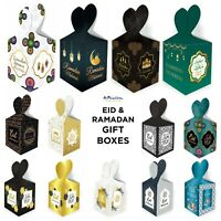 Ramadan Eid GIFT BOXES BAGS - Kids Party Decorations Banner Balloons Bunting Fun