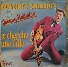 "Johnny Hallyday - Souvenirs Souvenirs - Vinyl 7"" 45T (Single) * RARE *"