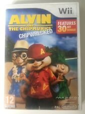 Alvin et les Chipmunks Chip naufrage Nintendo Wii