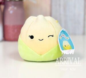 "*SALE*KellyToy Squishmallow 5""Jeannie the Yellow Tulip NEW Plush Toy HTF LT ED"