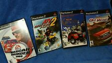 Play station 2,  4 game lot sports