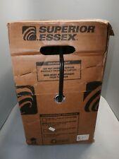 New Superior Essex, 12-004-08 Black 2x22 750FT