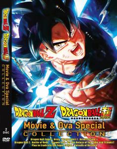 DVD ANIME Dragon Ball Z & Dragon Ball Super Movie & OVA Collection ENGLISH DUB