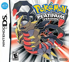 Pokemon -- Platinum Version (Nintendo DS, 2009) - CIB Complete in box
