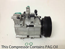 Remanufactured A/C Compressor for 2001-2006 Santa Fe 2.7L  w/1 year warranty