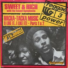 """Vinyle 45T Sweet & Rich with the Island Symphonia """"Hacka tacka music"""""""