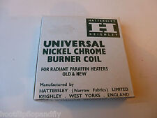 UNIVERSAL NICKEL CHROME BURNER COIL VALOR ALADDIN RADIANT PARAFFIN HEATER