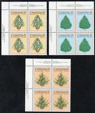 CANADA MNH 1981 Christmas Block of 4