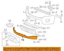 GM OEM Front Bumper-Spoiler Lip Chin Splitter 23450920