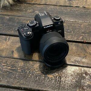 Panasonic LUMIX G85 16.0MP Digital Camera With Kit Lens and 25mm 1.7f Lumix