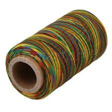 250M 1mm multifarbe Leder naehen DIY Stitching Wohnung Wachs Gewinde-Schnur 150D