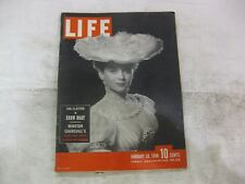 Life Magazine January 28th 1946 Jan Clayton In Show Boat Published By Time mg193