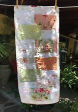 Handmade 8 Pocket Storage Hanging Wall Pouch Organizer Roses Dots Shabby Chic