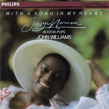 JESSYE NORMAN : WITH A SONG IN MY HEART - BOSTON POPS, JOHN WILLIAMS / CD