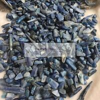Bulk Natural kyanite Tumbled quartz Small pieces Stones 1/2lb Crystal Gravel