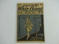 "Capt. Billy's ""Whiz Bang"" Humor Magazine, Vol. III November 1921   No. 27"