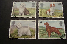 GB 1979 Commemorative Stamps~Dogs~Very Fine Used Set~(ex fdc)UK Seller