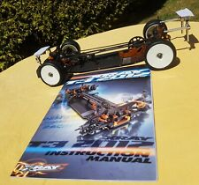 Xray T3 2012 1.10 Electric Car Chassis With Instructions Race/Drift Carbon Alloy