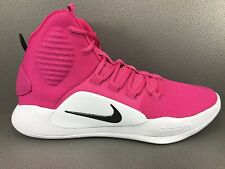 Nike Hyperdunk X TB Promo 2018 Pink Cancer Awareness AT3866-609 Men's Size 11.5