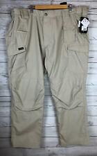 BLACKHAWK! Men's Pursuit Pants Tactical Khaki Cargo Teflon Shield Size 44 X 32