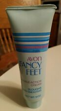 Avon Fancy Feet Double Action Scented Foot Cream Lotion 3 oz Tube Old Stock-85%