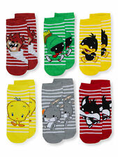 LOONEY TUNES LADIES 6 PACK SOCKS NEW!
