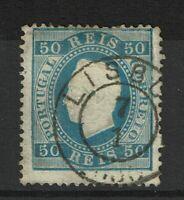 Portugal SC# 43, Used, minor toning, v. minor embossing tears, perf 12.5 - S9832