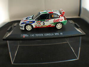 High Speed ◊Toyota Corolla WRC 98 C. Mainz I. Moya ◊ 1/43 ◊ IN Box / Boxed