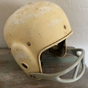 Vintage Antique Rawlings Cy-Co-Lite HC12 Football Helmet -White