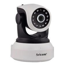 Sricam SP017 IP Camera 720P HD Wifi Megapixel H.264 Wireless P/T ONVIF CCTV P2P