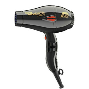 NEW, Parlux Advance Light Ceramic and Ionic Hair Dryer 2200W- Black