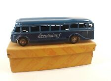 CIJ France n° 6.10 car Renault bus Excursions autobus mécanique tin toy en boite