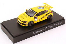 1:43 VW Scirocco III R-Cup 2012 Dunlop N° 6 Edition Concessionnaire Volkswagen