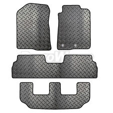 Toyota Corolla Verso 04 - 2009 Tailored 4 Piece Rubber Car Mat Set 2 Round Clips