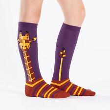 Sock It To Me Junior Knee High Socks - Geo-raffe - Age: 7-10