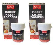 4 X Rentokil Insecte Killer Brumisateurs Détruit Fly Mouches Flea Mites Insectes