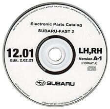 Subaru FAST 2012 Europe spare parts catalogue (Impreza, Legacy, Forester)