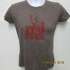 Red Stag by Jim Beam T-Shirt, Unexpect More Bold Choice, Ash Gray, S/S, Medium