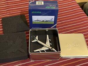"Alitalia ""Bulgari"" 747-200, Herpa and El Al 747-400 Starjets 1:500 scale diecast"