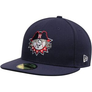 HAGERSTOWN SUNS MiLB NEW ERA 59FIFTY FITTED ON FIELD REVOLUTION HAT/CAP SZ 7 NWT