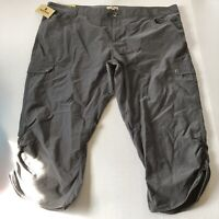Woolrich Womens Gray Crop Capri Pants Sz 14 A1167