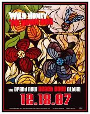the Beach Boys - POSTER - WILD HONEY Album Promo ad - Brian Wilson