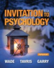Invitation to Psychology 6th Int'l Edition