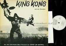 LP--Dood Un Deiwel – King Kong Und Der Präsident // + BOOKLET