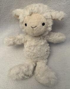 "JELLYCAT Squiggle Lamb Plush Stuffed Toy Lovey Small 8""  Sheep Soft Fluffy HTF"