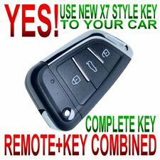 Silicone Cover fit for TOYOTA Camry Solara Avalon Remote Key 2+1 Button CV2412OR
