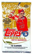 TOPPS BASEBALL 2013 SERIES 2 (1 SEALED PACK)!!
