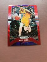 2019/20 Panini Prizm Basketball: Kyle Kuzma Red Wave